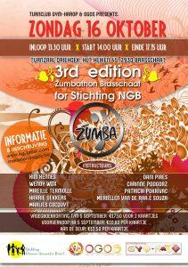 15 oktober Zumba marathon in Brasschaat