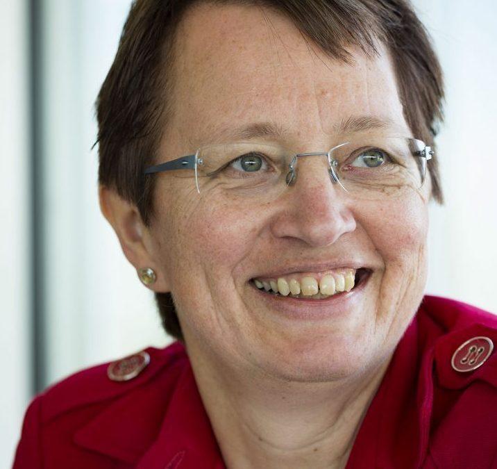Penningmeester Arja Hilberdink