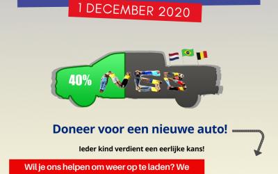 #GivingTuesday 2020 – Doneer voor een nieuwe auto!