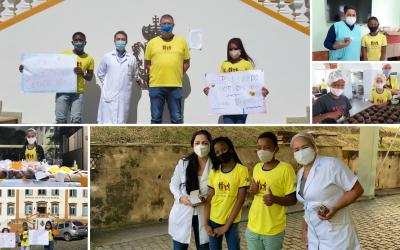 Een hart onder de riem voor zorgmedewerkers in Brazilië